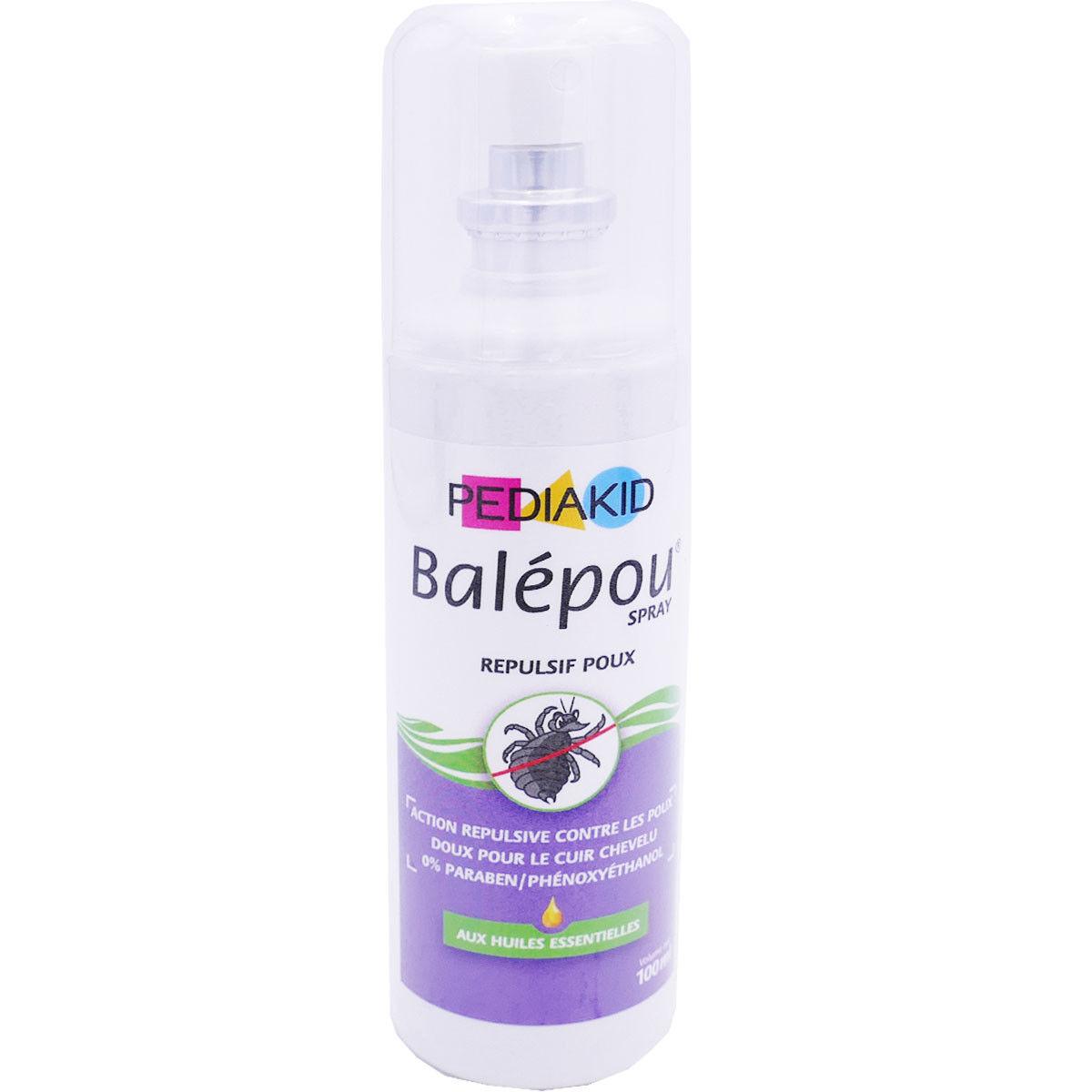 Pediakid balepou spray rÉpulsif poux 100 ml
