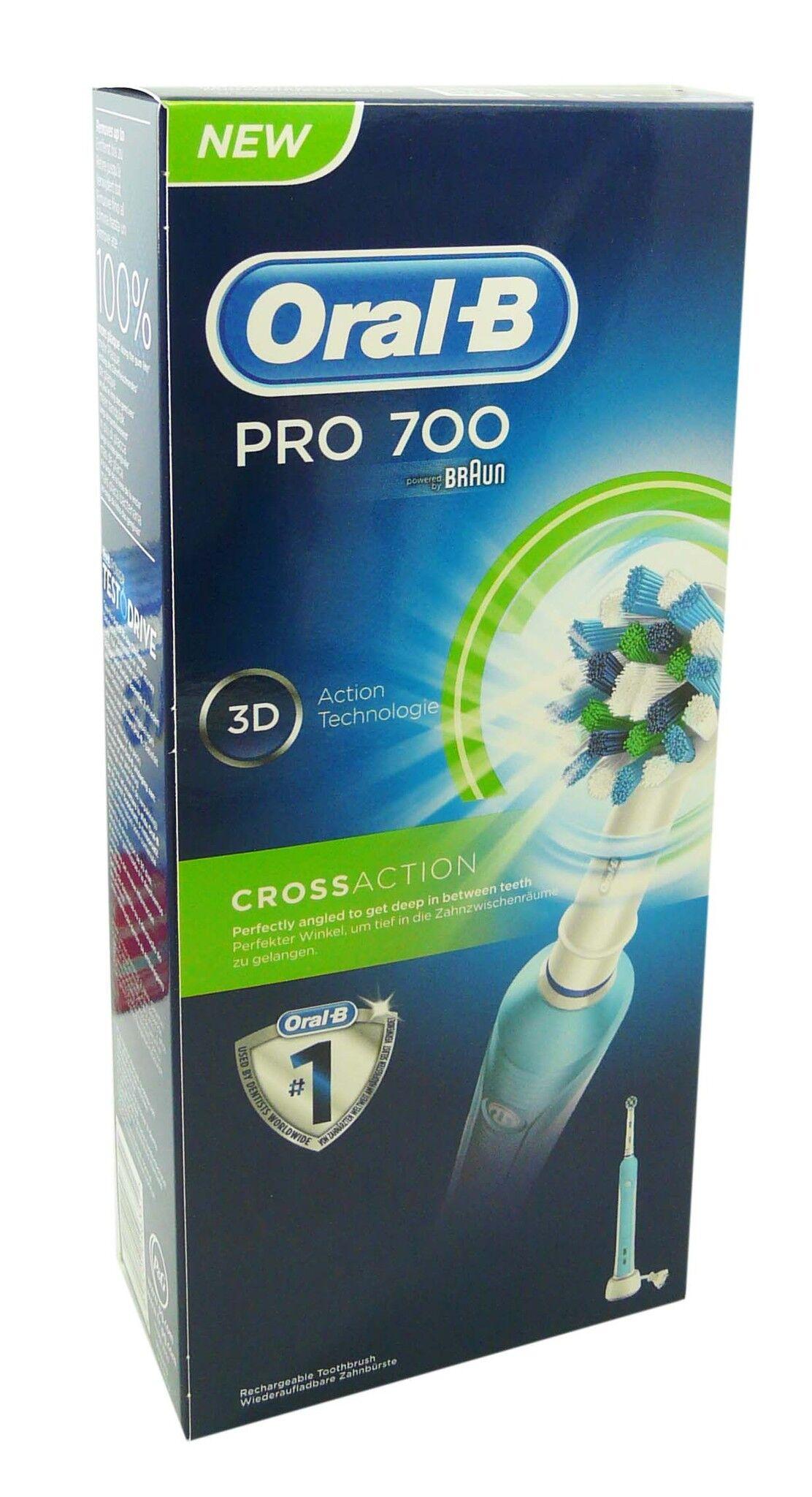 Oral b brosse a dent electrique pro 700 cross action