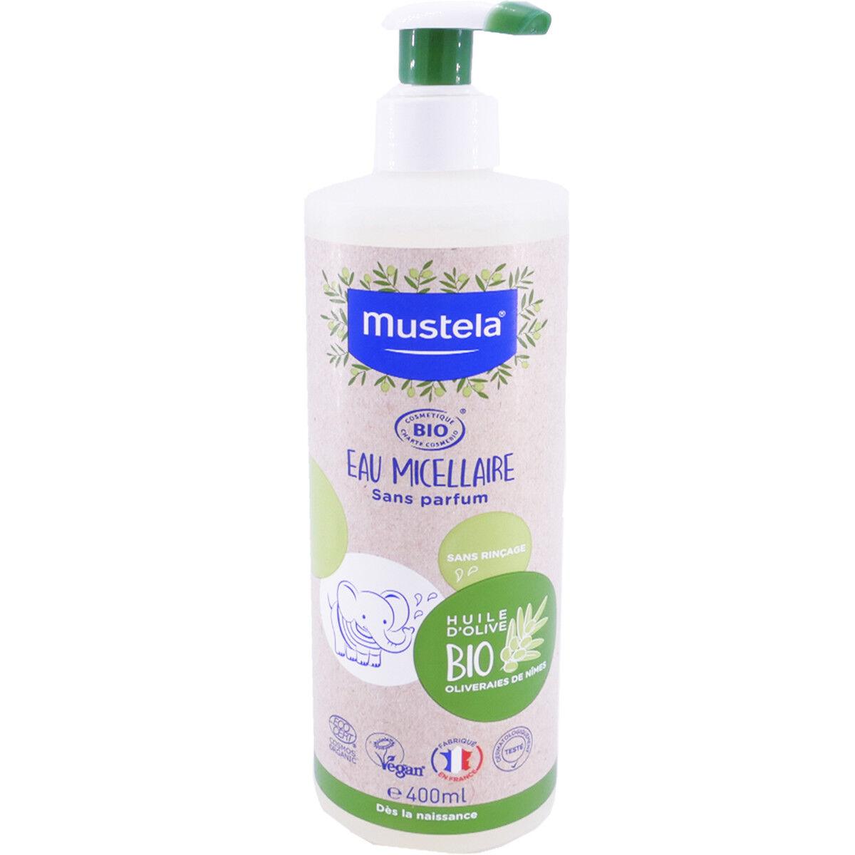 Mustela eau micellaire 400 ml bio