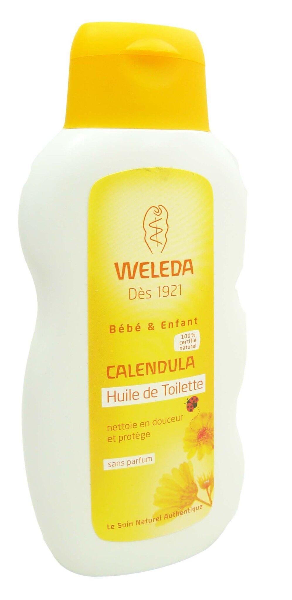 Weleda bebe calendula huile de toilette 200ml