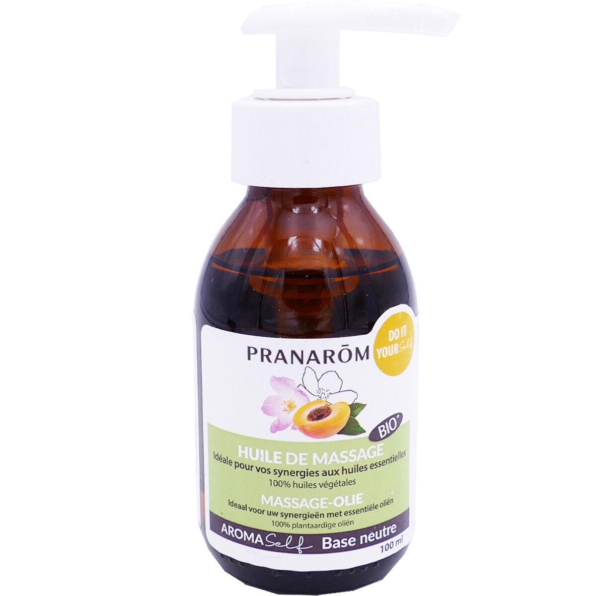 Pranarom huile de massage bio 100ml