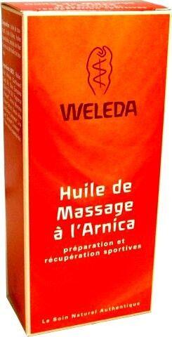 Weleda huile de massage arnica 200 ml