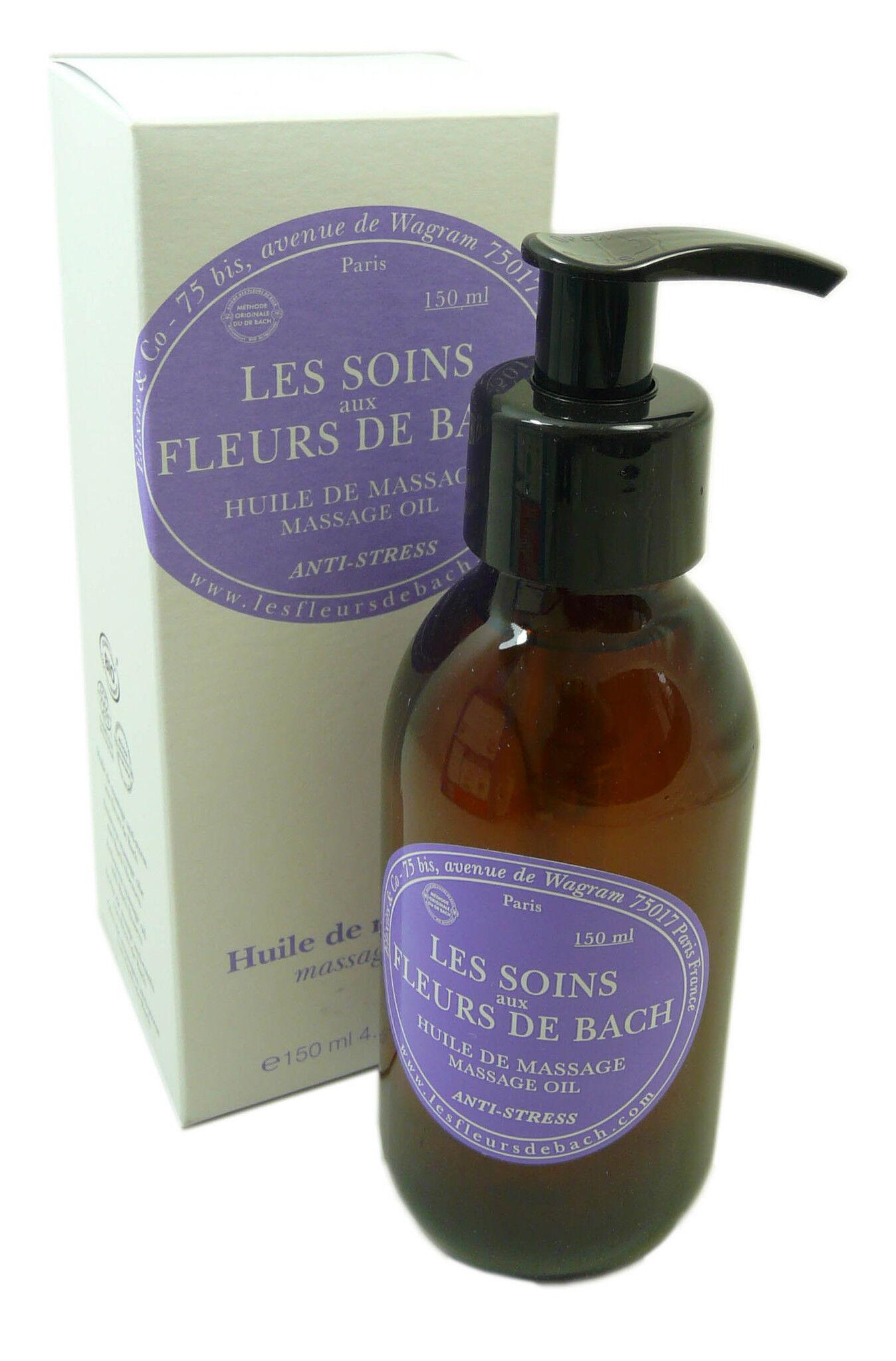 ELIXIRS & CO Fleurs de bach huile de massage 150ml