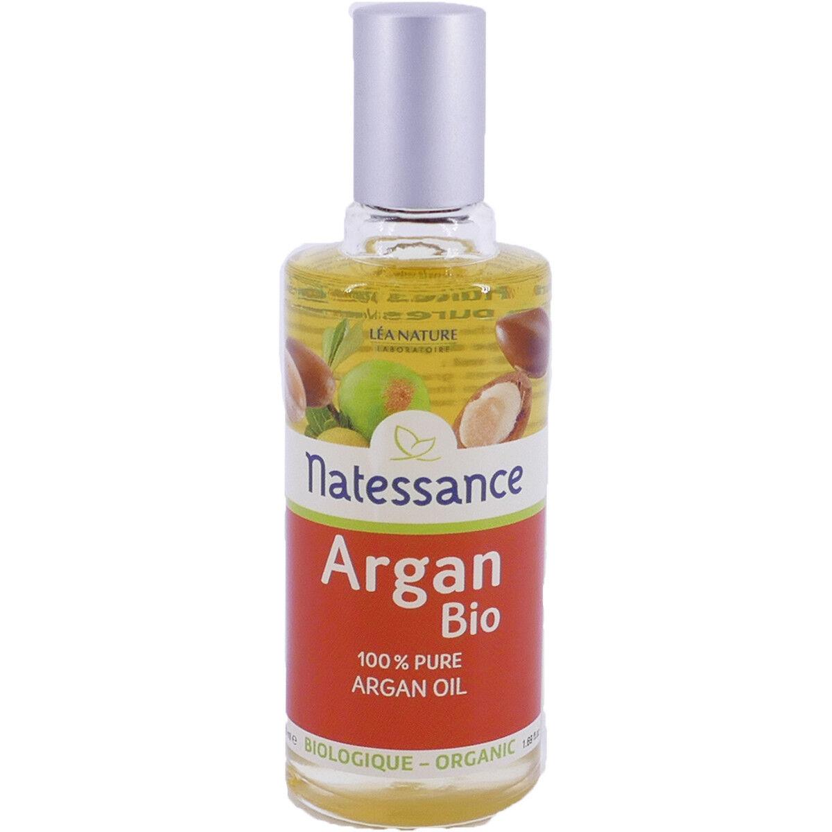 Natessance huile d'argan bio 50 ml