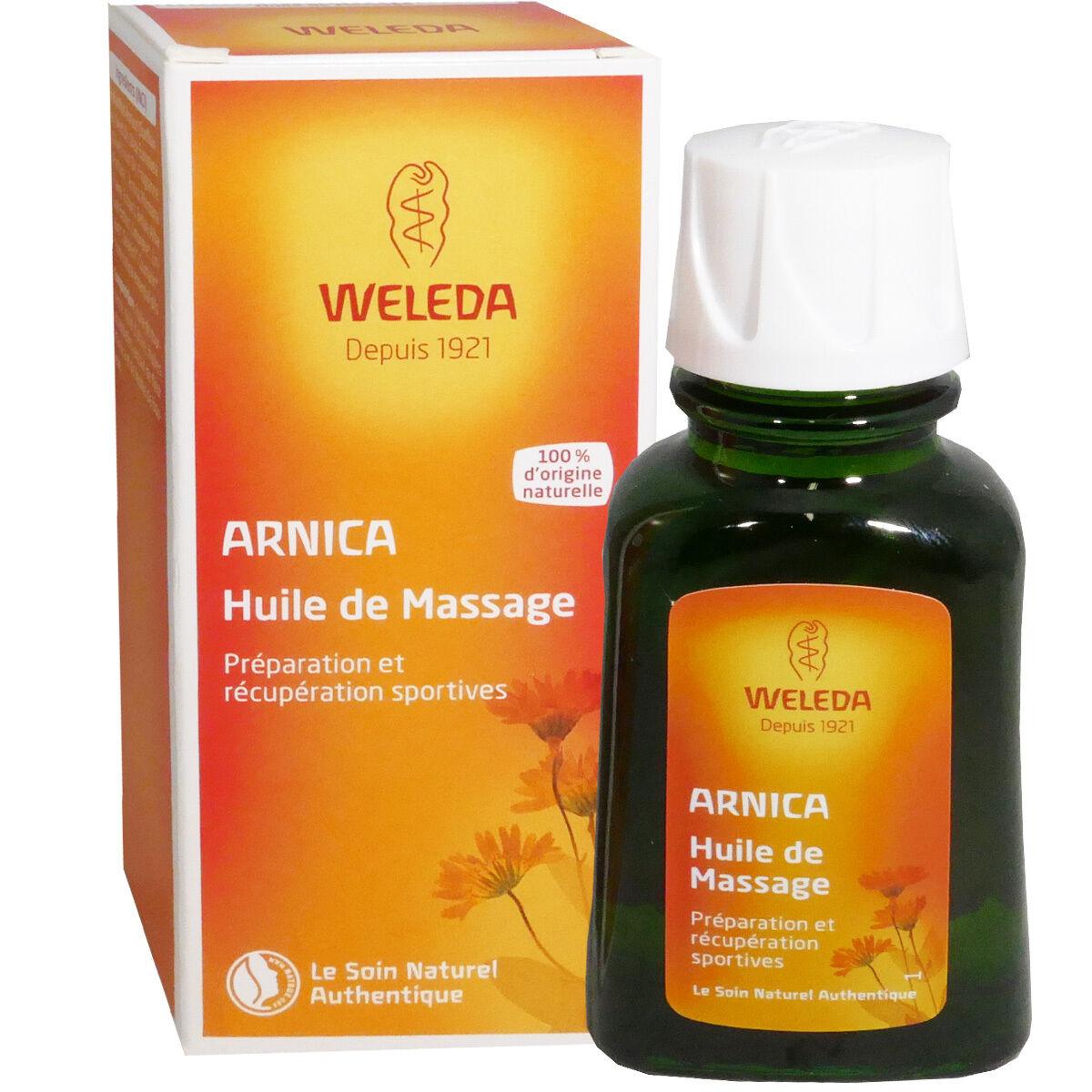 Weleda huile de massage a l'arnica 50ml