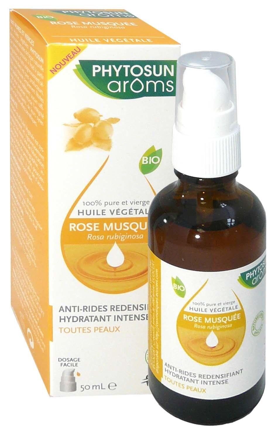 Phytosun aroms huile vegetale rose musquee 50ml