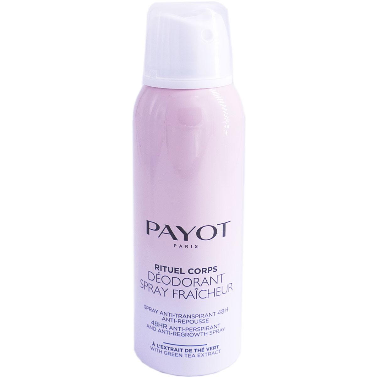 Payot rituel corps deodorant spray fraicheur 125ml