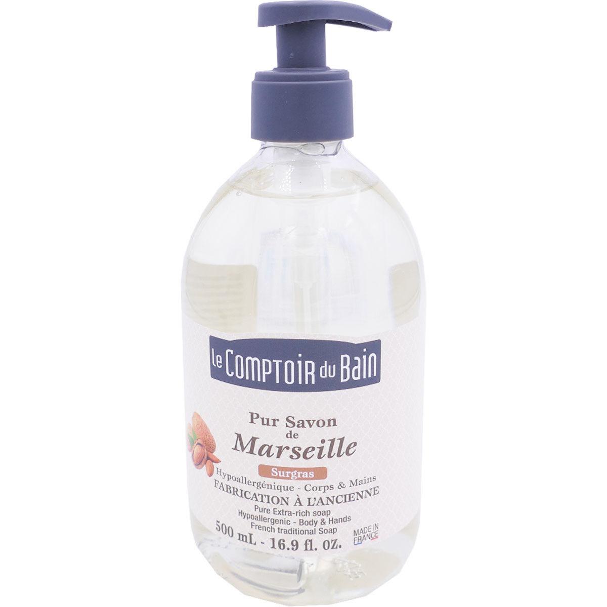 Le comptoir du bain pur savon de marseille surgras 500ml