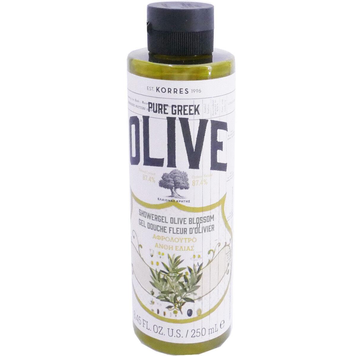 Korres gel douche fleur d'olivier 250ml