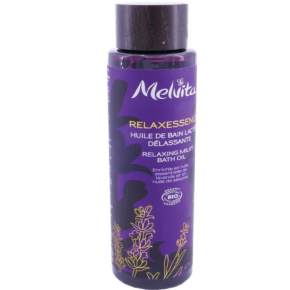 Melvita relaxessence huile de bain 140 ml