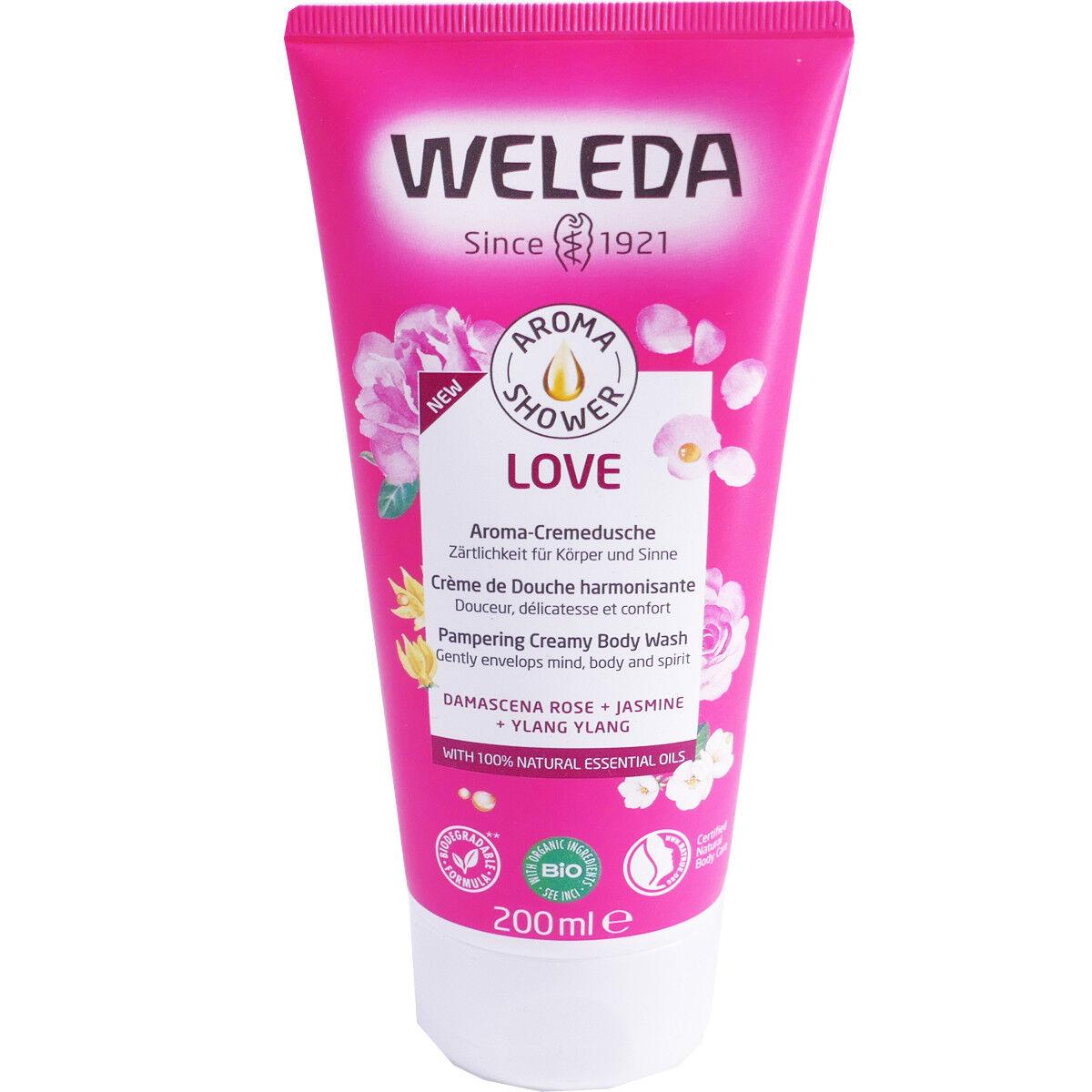 Weleda love creme de douche harmonisante bio 200ml