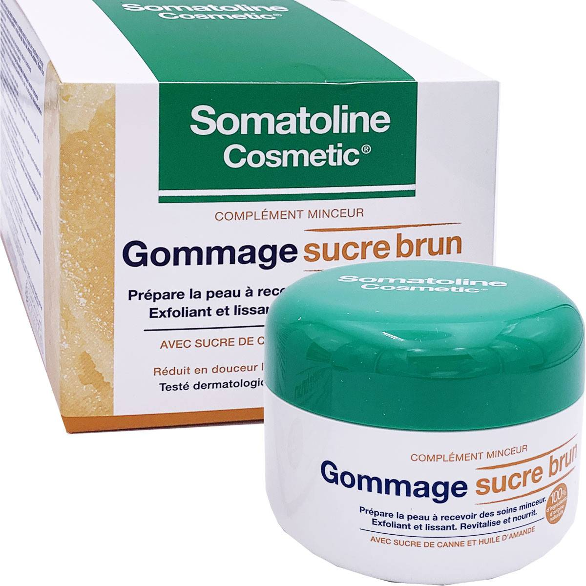Somatoline gommage sucre brun 350g