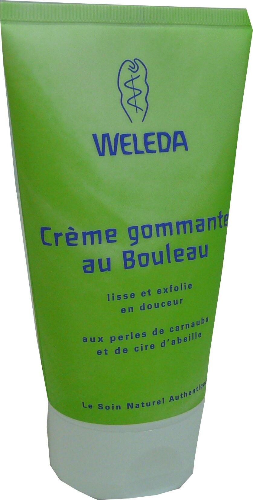 Weleda creme gommante au bouleau 150ml