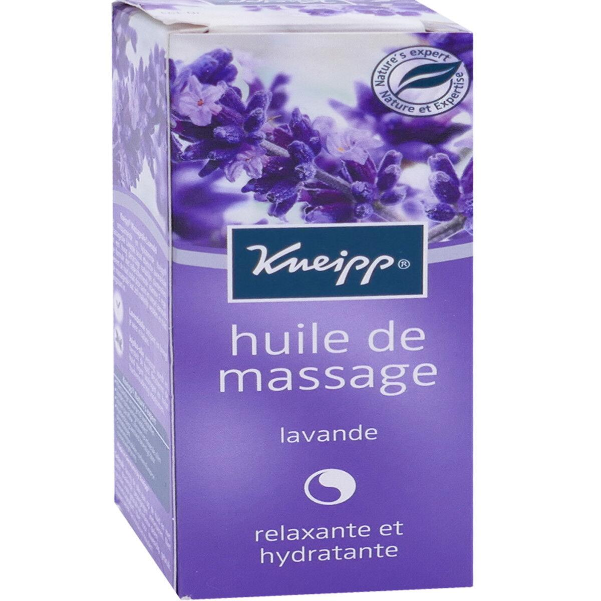 Kneipp huile de massage  lavande 100 ml relaxante