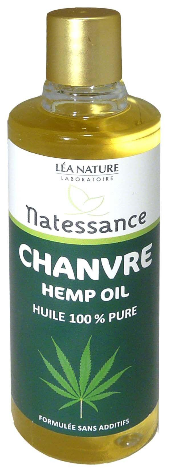 Natessance huile pure de chanvre 100ml