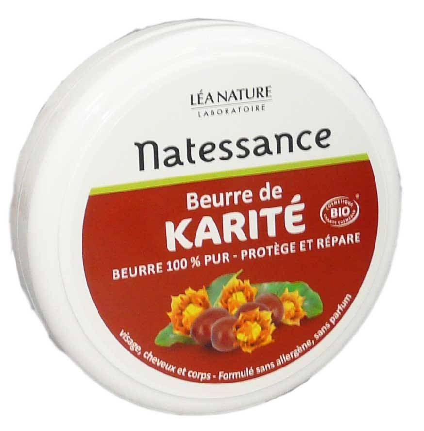Natessance karite bio visage, cheveux & corps 100g