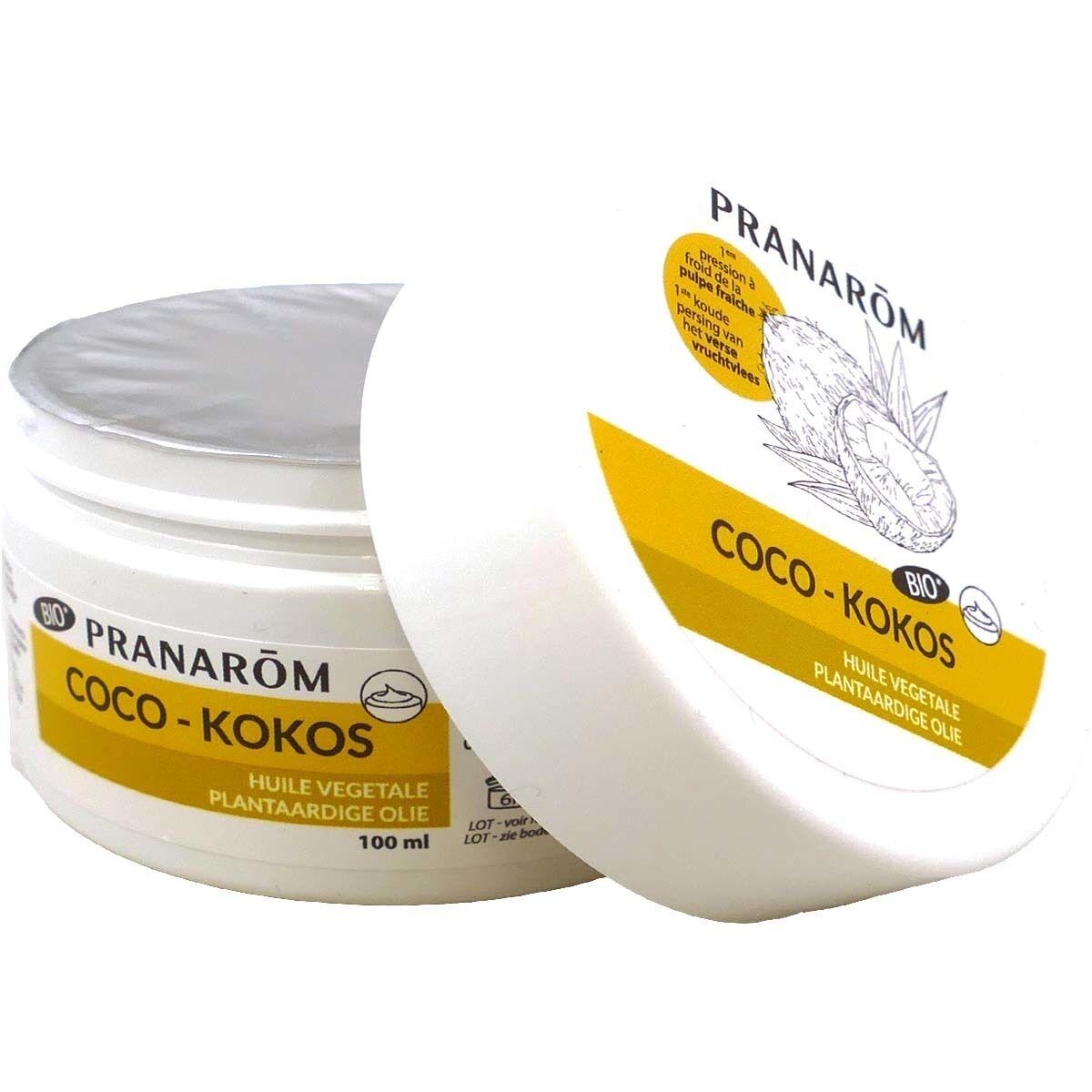 Pranarom huile vegetale coco-kokos bio 100 ml