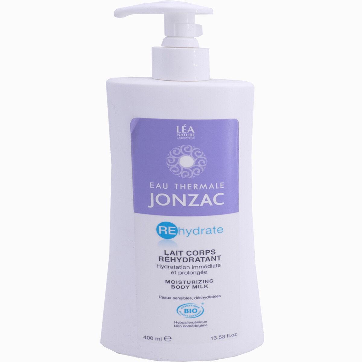 Jonzac rehydrate lait corps bio 400 ml
