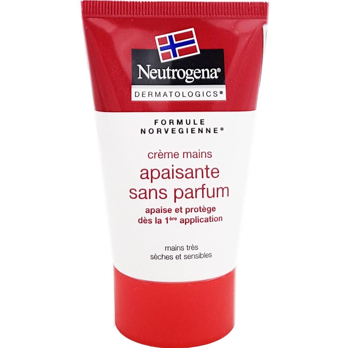 Neutrogena creme mains apaisante sans parfum 50ml