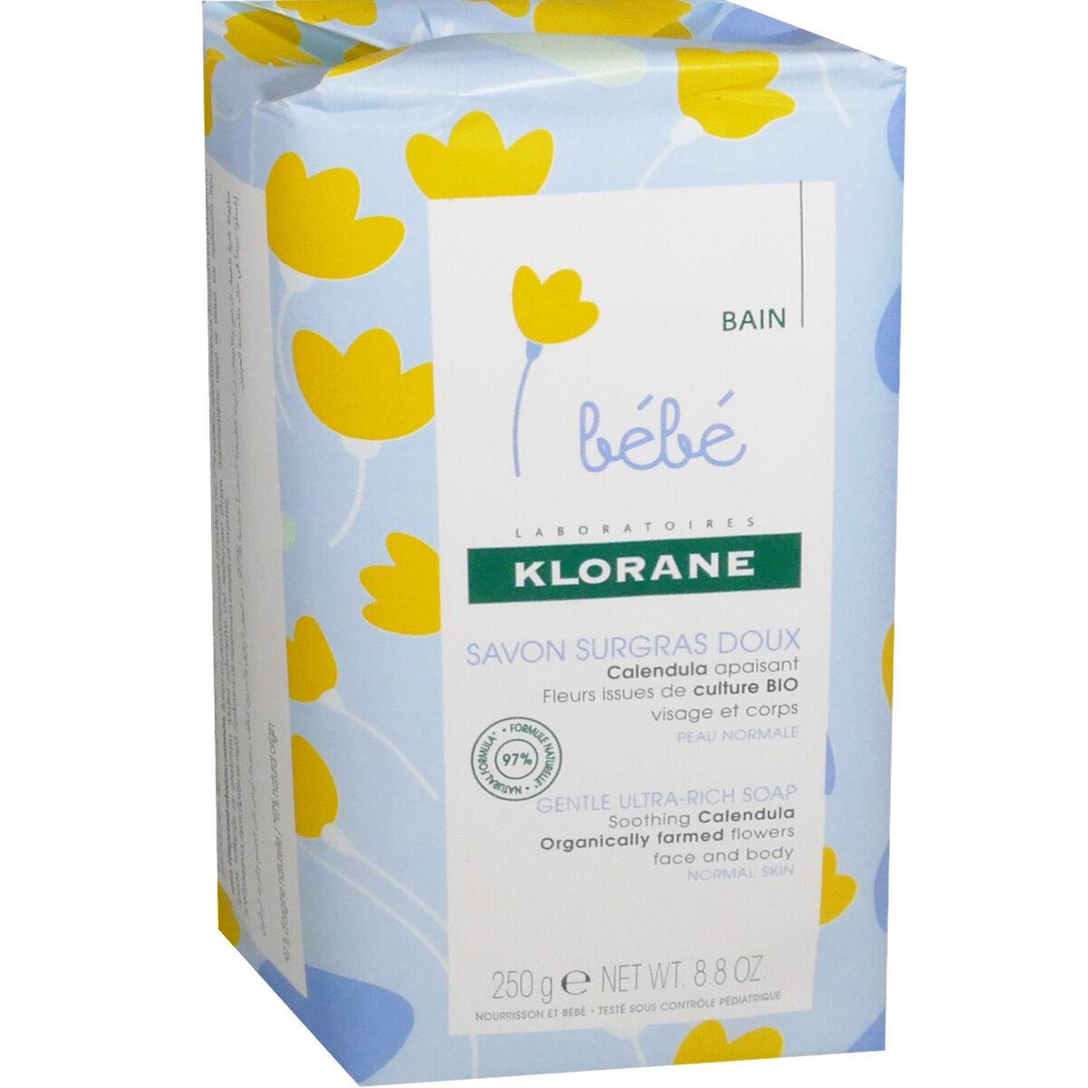 Klorane savon surgras doux 250 g bebe