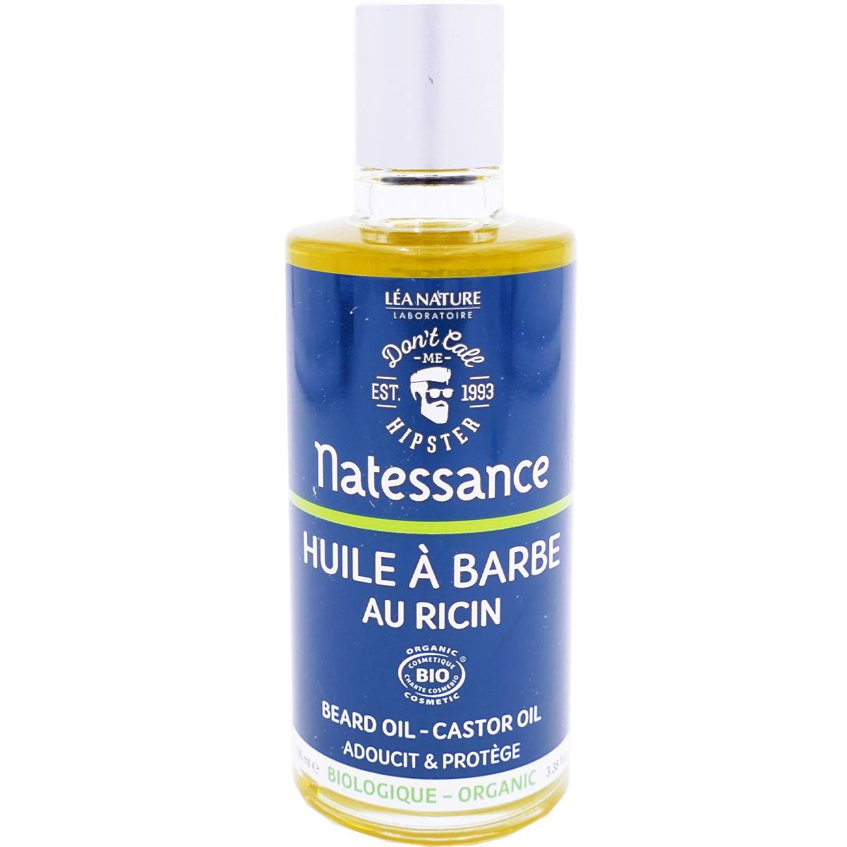 Natessance huile a barbe ricin 100 ml bio
