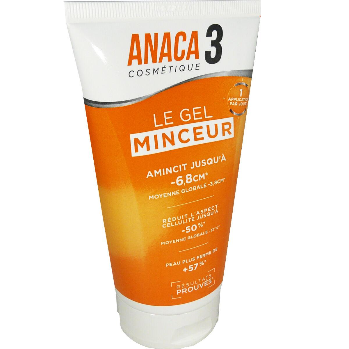 Anaca 3 cosmetique gel minceur 150 ml