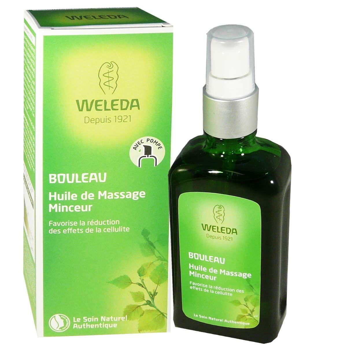 Weleda huile de massage 100 ml bouleau