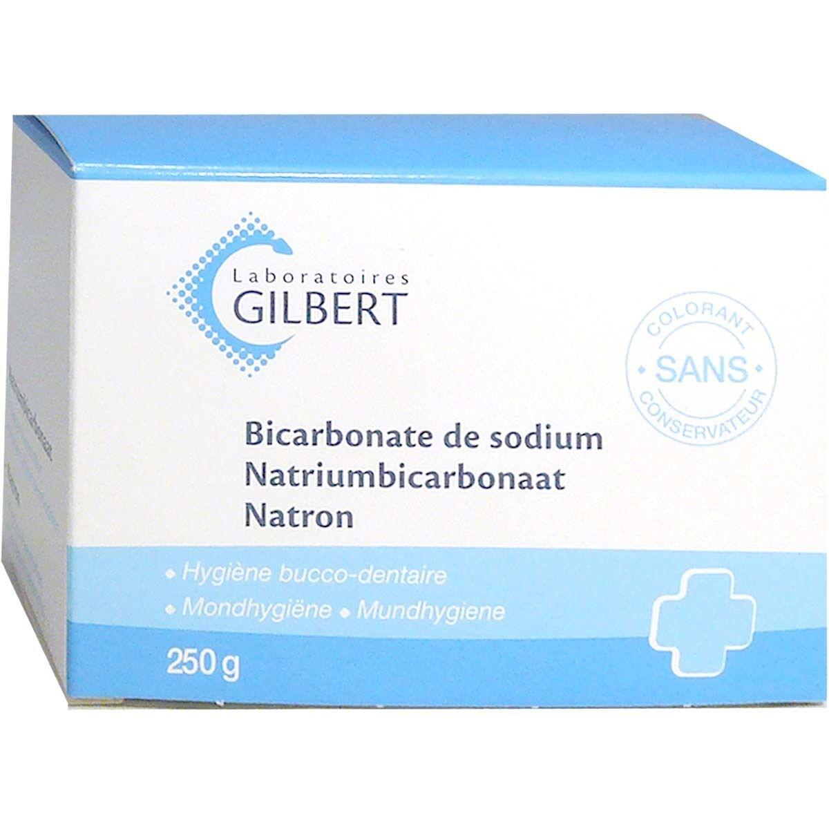 Gilbert bicarbonate de sodium sans colorant 250 g