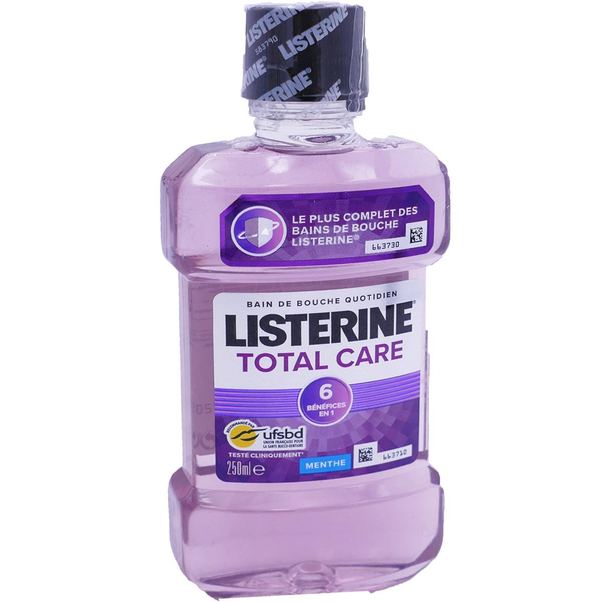 Listerine total care menthe 250 ml