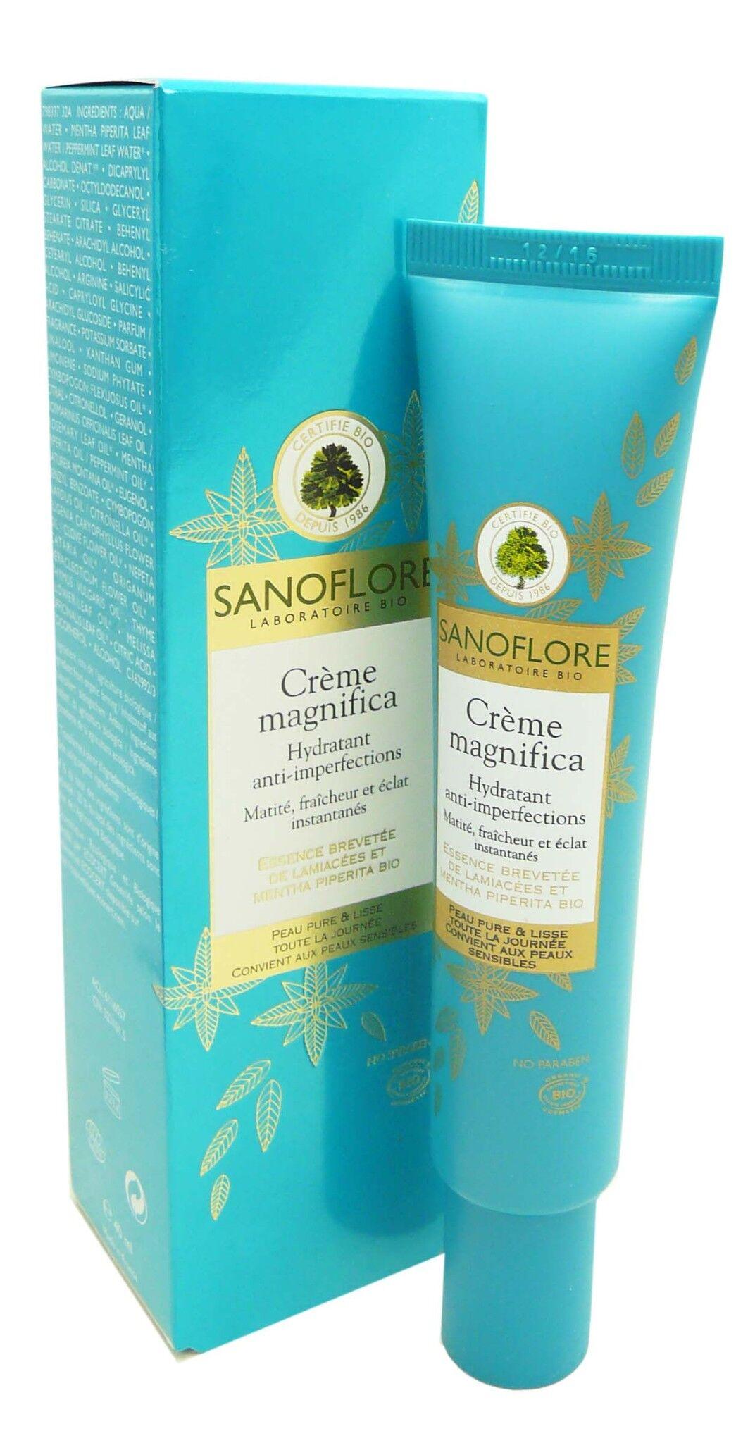 Sanoflore creme magnifica hydratant 40ml