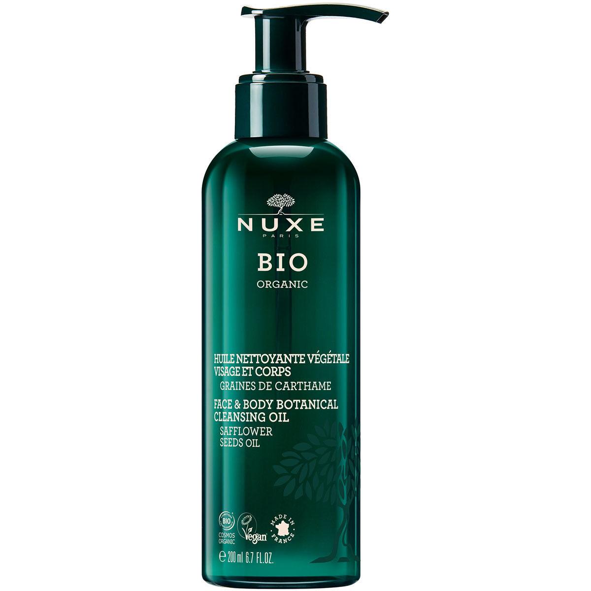 BIO BEAUTE NUXE Nuxe bio huile nettoyante vegetale 200ml