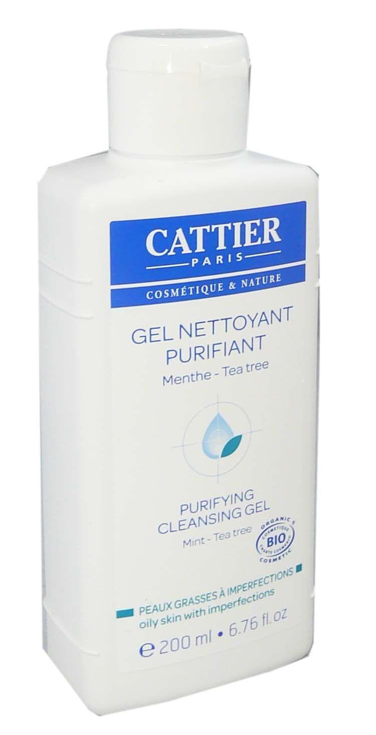 Cattier gel nettoyant purifiant 200ml