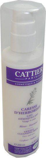 Cattier lait demaquillant caresse d'herboriste 200ml