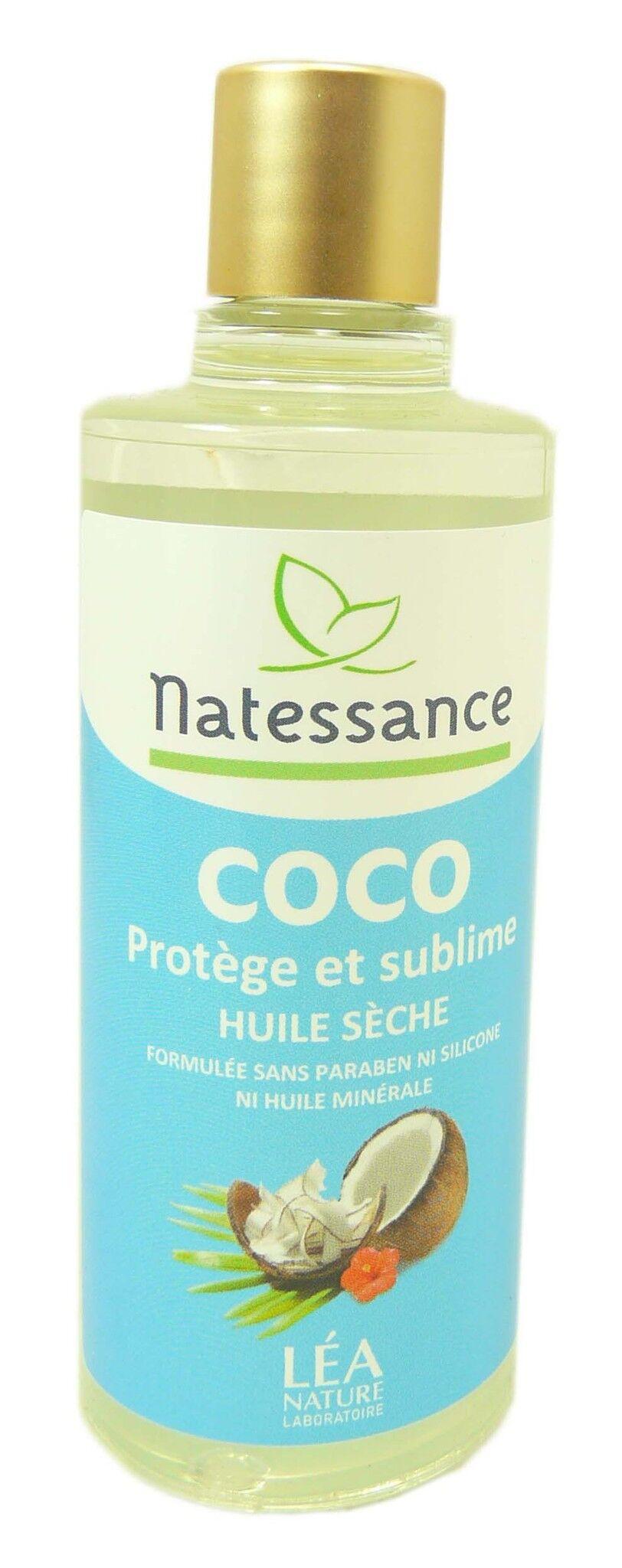 Natessance huile seche de coco 100ml