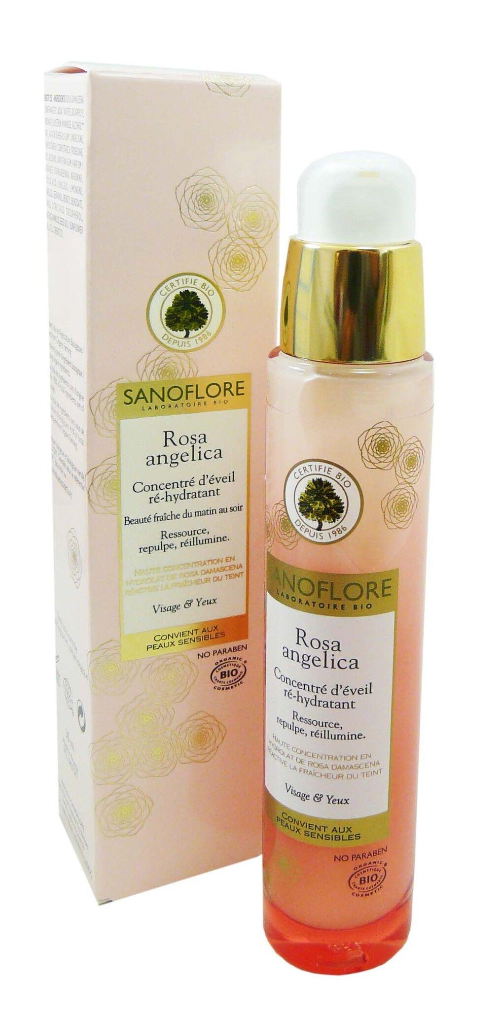 Sanoflore rosa angelica concentre d'eveil 30ml