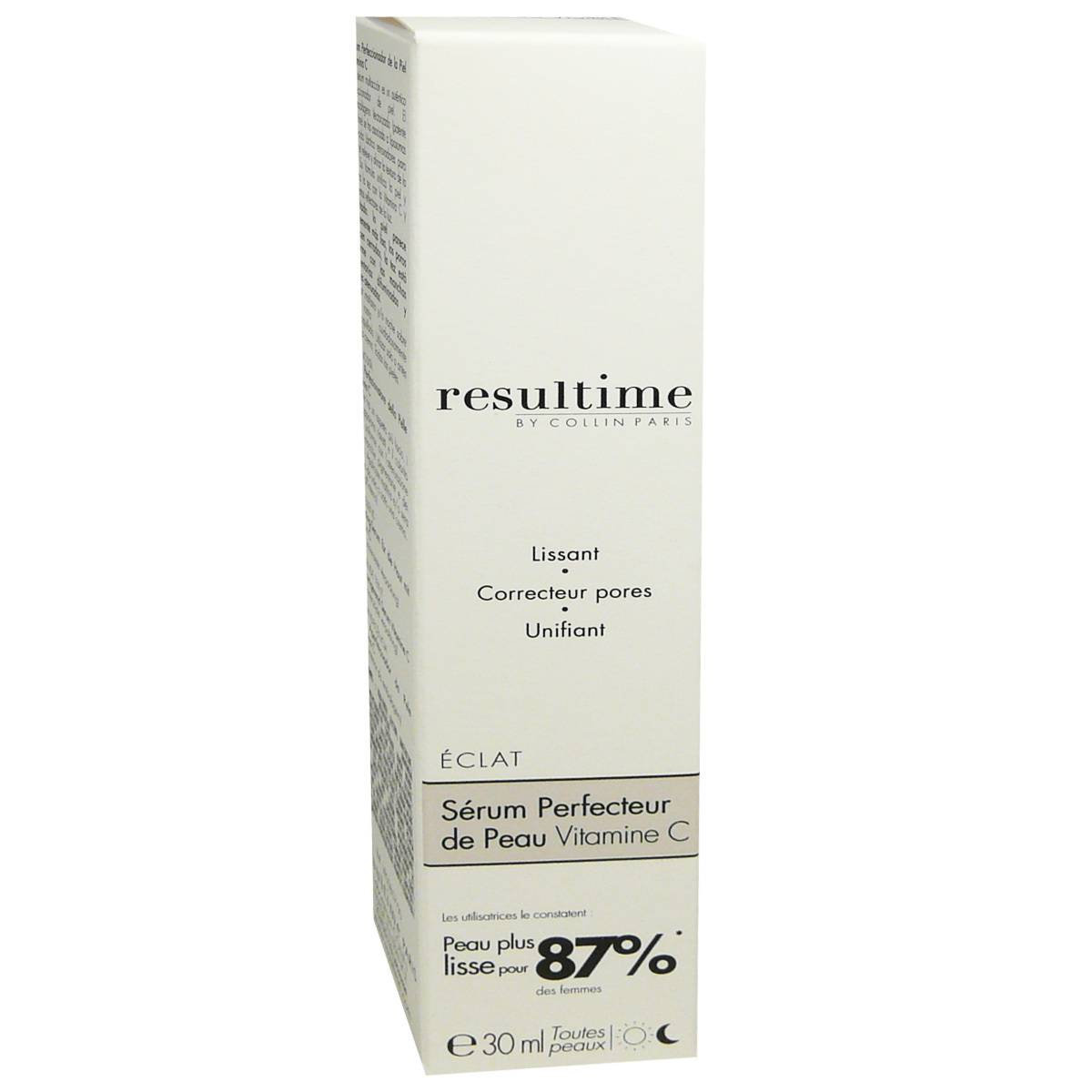 Resultime serum perfecteur de peau vitamine c 30 ml toutes peaux