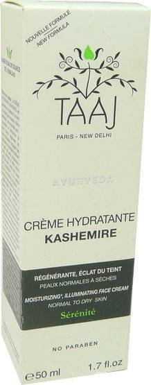 Taaj creme hydratante pnm kashemire 50ml