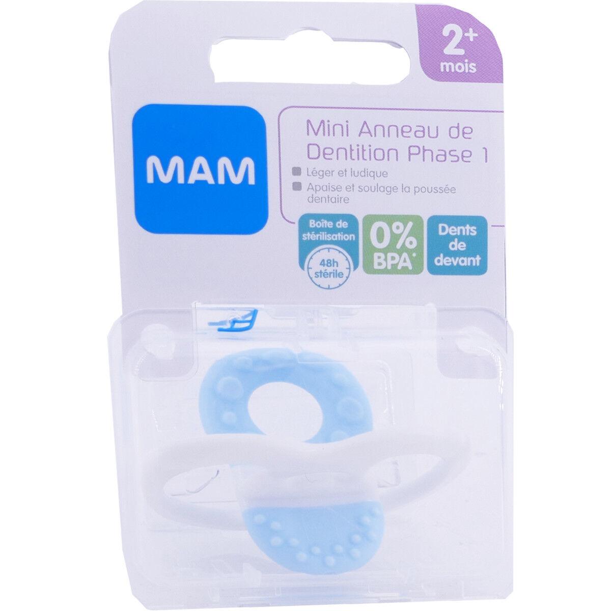 Mam mini anneau dentition phase 2+ mois