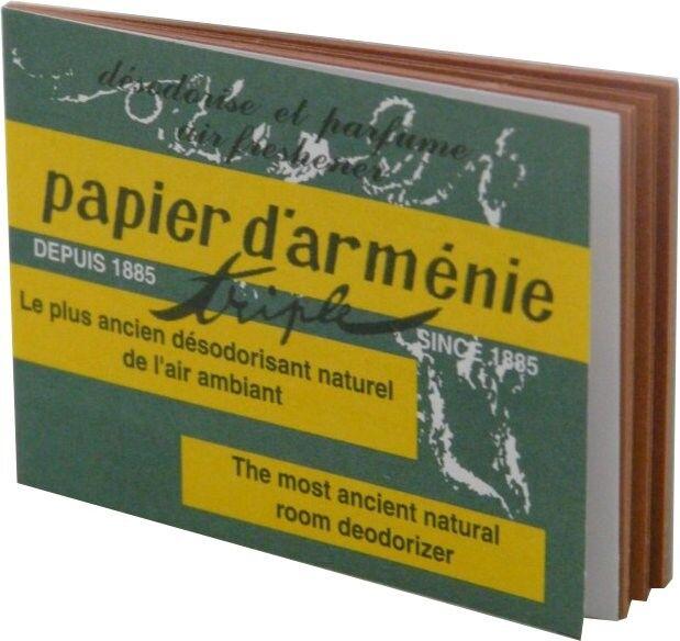 PHARM UP Papier d'armenie triple 12 lamelles