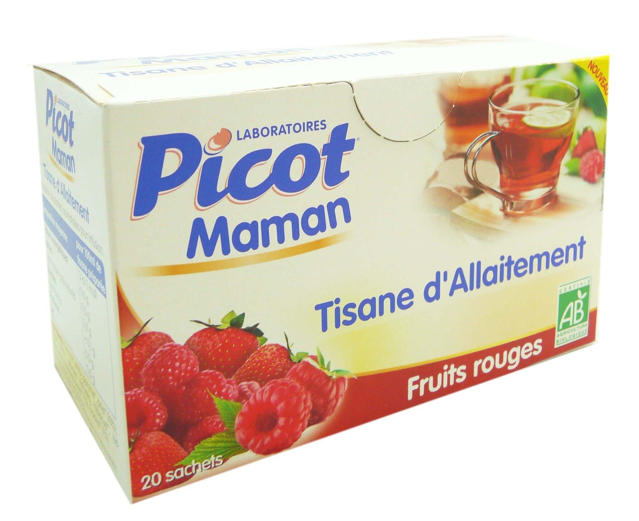 Picot maman tisane d'allaitement fruits rouges