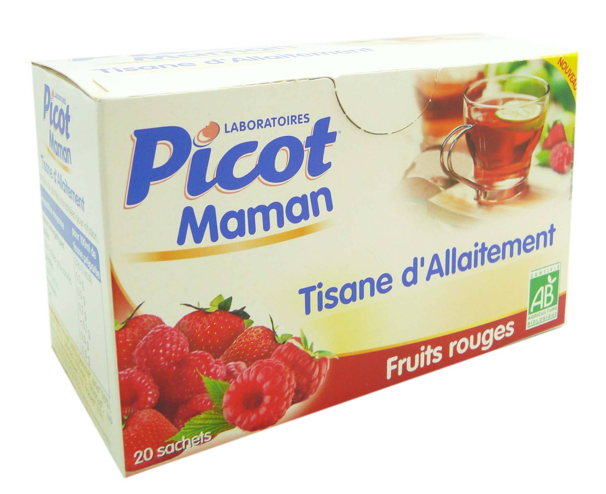 Picot maman tisane d'allaitement fruits rouges