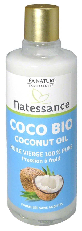 Natessance huile vierge de coco bio 100ml