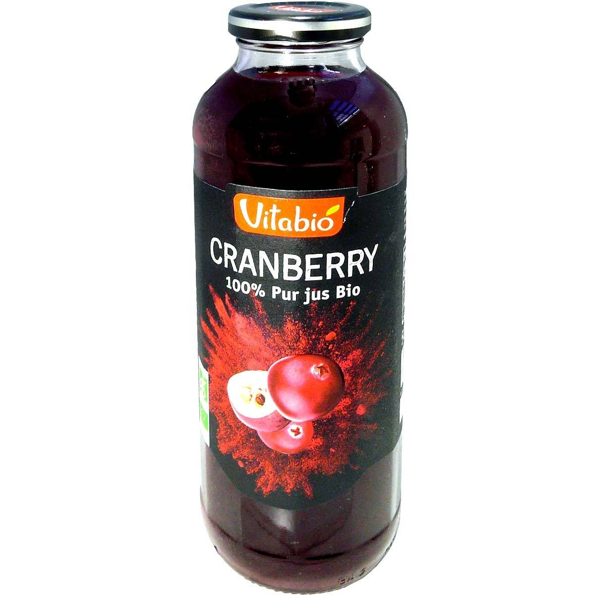 Vitabio jus de cranberry bio 50 cl