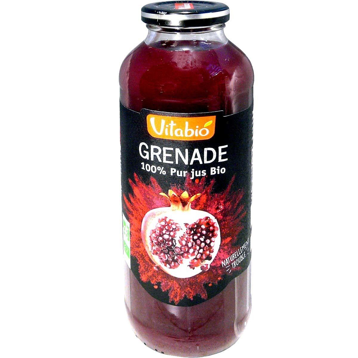Vitabio jus de grenade bio 50 cl