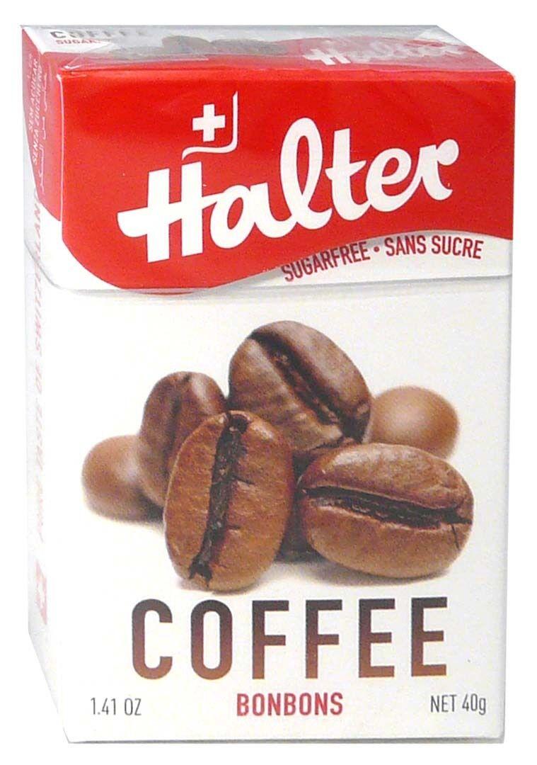 Bonbon halter sans sucre cafe 40g