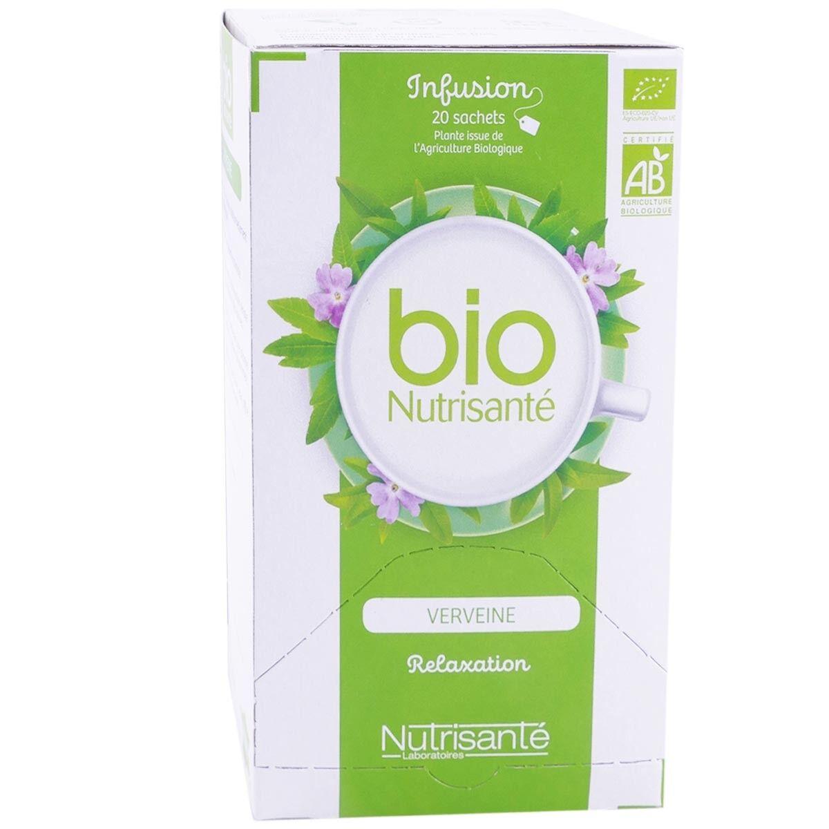 Nutrisante bio verveine relaxation 20 sachets