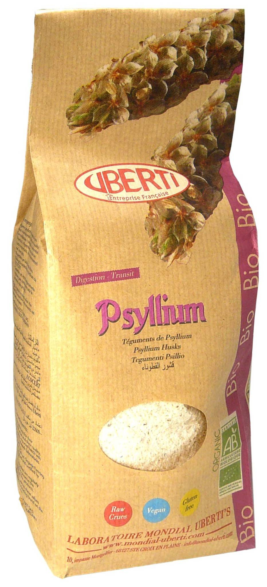 PHARM UP Uberti psyllium bio 300g