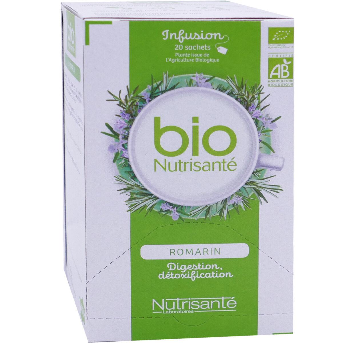 NUTRISANTE Bio nutrisante romarin digestion detoxification 20 sachets