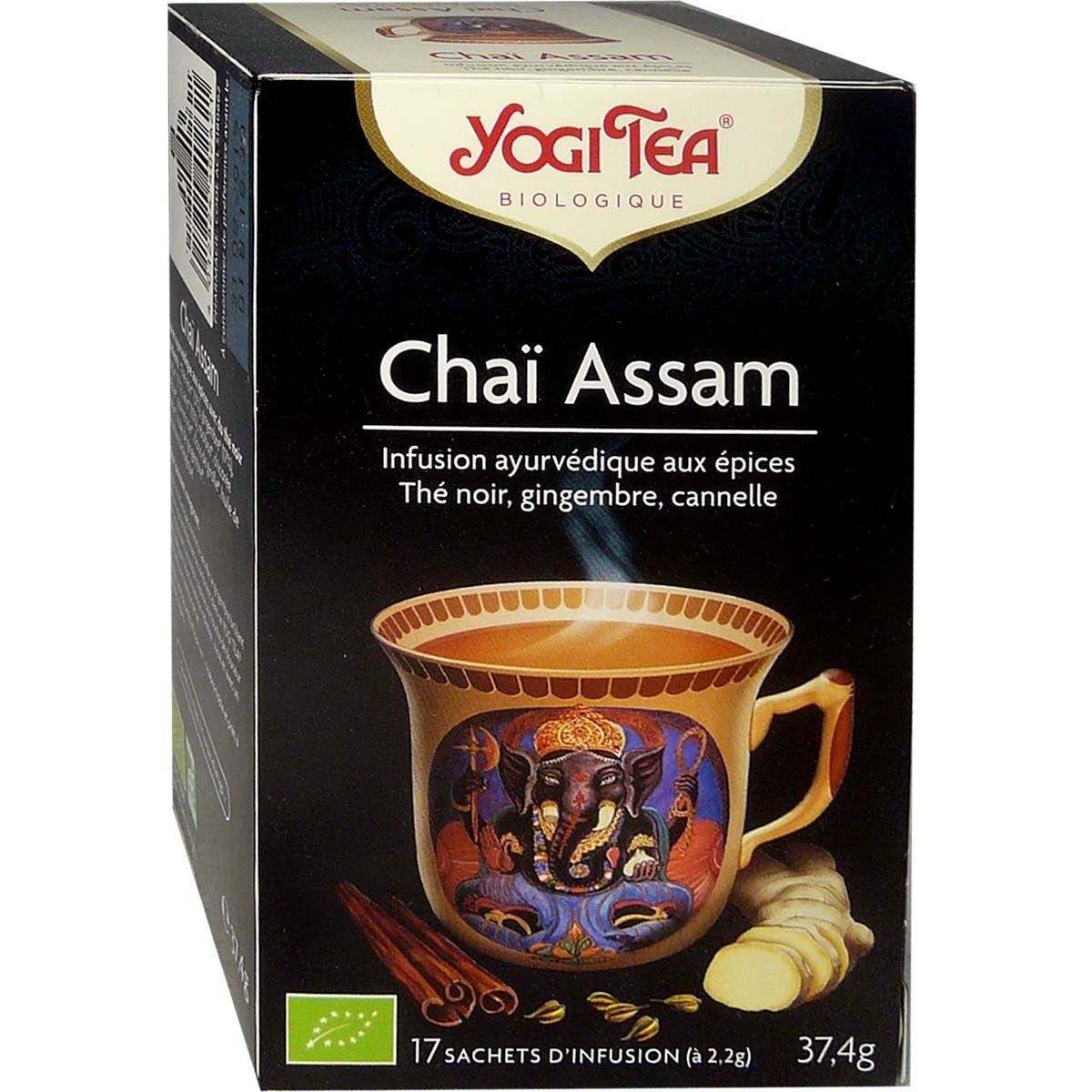Yogi tea infusion chaÎ assam 17 sachets