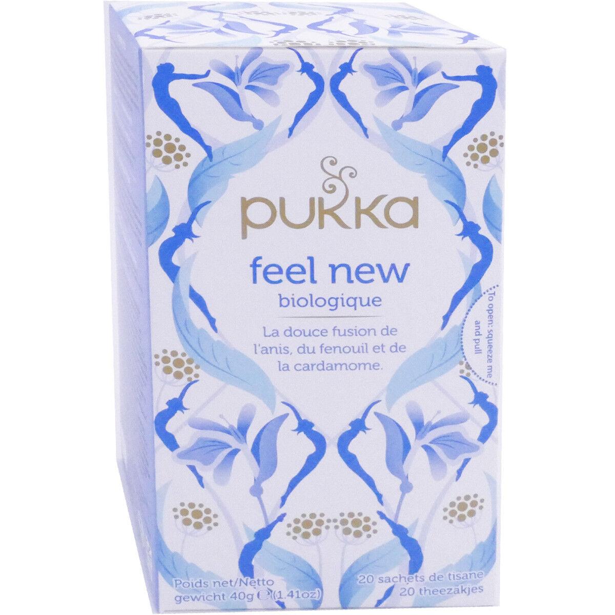 Pukka feel new tisane 20 sachets